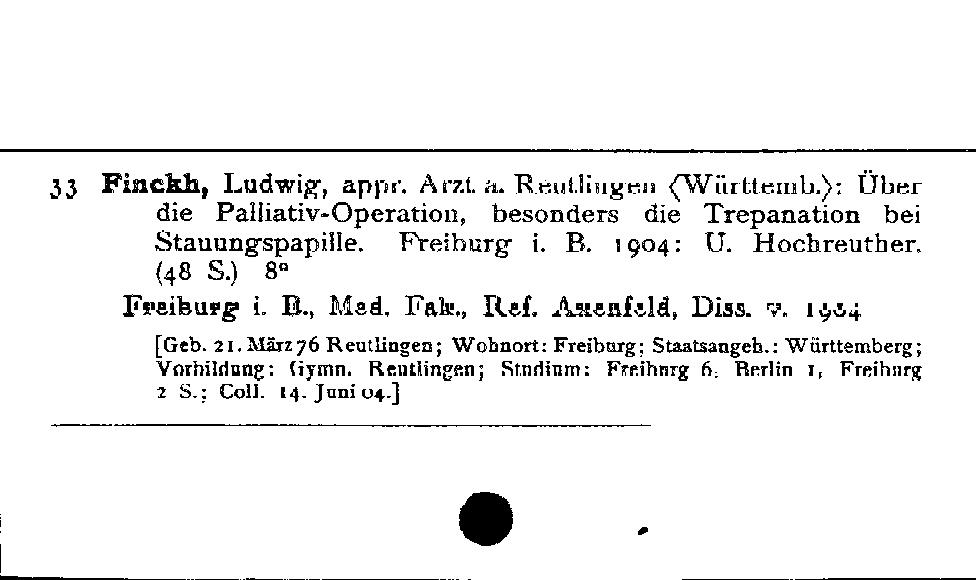 [Katalogkarte Dissertationenkatalog bis 1980]